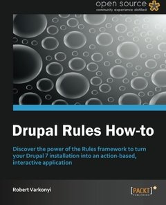 Drupal Rules How-To-cover