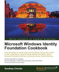 Microsoft Windows Identity Foundation Cookbook-cover