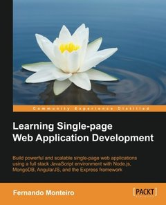 Learning Single Page Web Application Development-cover