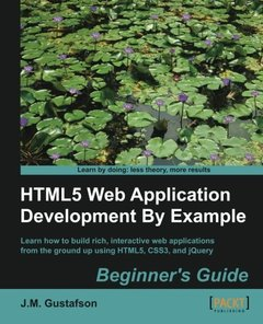 HTML5 Web Application Development By Example Beginner's guide-cover