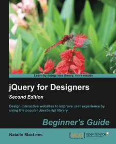 jQuery for Designers : Beginners Guide, 2nd Edition-cover