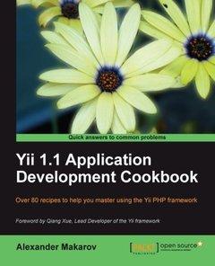 Yii 1.1 Application Development Cookbook-cover