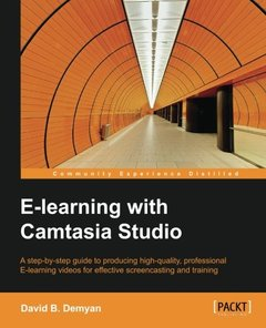 E-Learning with Camtasia Studio-cover