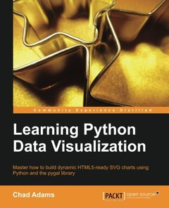 Learning Python Data Visualization-cover