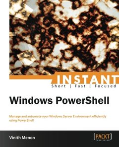Instant Windows PowerShell-cover