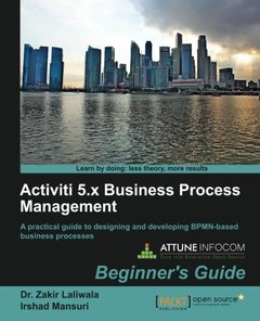 Activiti 5.x Business Process Management, Beginner's Guide-cover