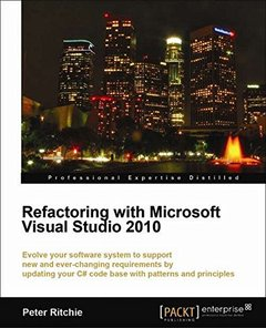 Refactoring with Microsoft Visual Studio 2010-cover