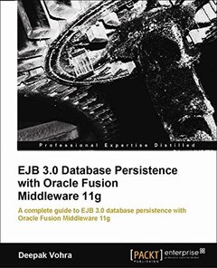 EJB 3.0 Database Persistence with  Oracle Fusion Middleware 11g-cover