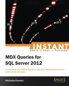 Instant MDX Queries for SQL Server 2012-cover