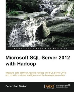 Microsoft SQL Server 2012 with Hadoop-cover