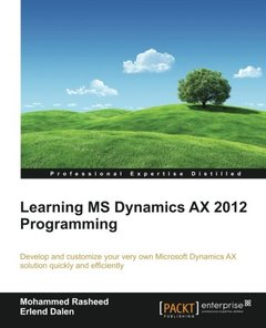 Learning MS Dynamics AX 2012 Programming-cover