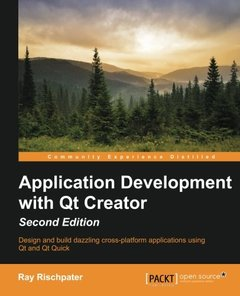 Application Development with Qt Creator, 2nd Edition-cover