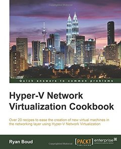 Hyper-V Network Virtualization Cookbook-cover
