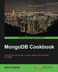 MongoDB Cookbook-cover