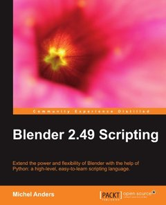 Blender 2.49 Scripting-cover