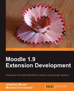 Moodle 1.9 Extension Development-cover