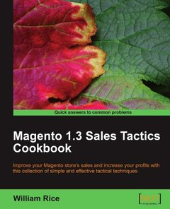 Magento 1.3 Sales Tactics Cookbook-cover