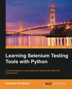 Learning Selenium Testing Tools with Python-cover