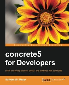 concrete5 for Developers-cover