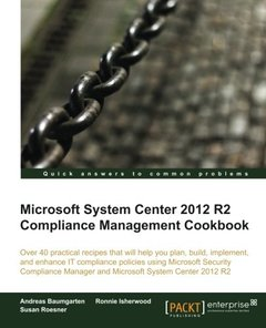 Microsoft System Center 2012 R2 Compliance Management Cookbook-cover