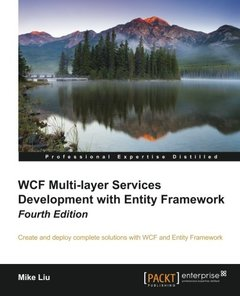 WCF Multi-Layer Services Development with Entity Framework, 4th Edition-cover