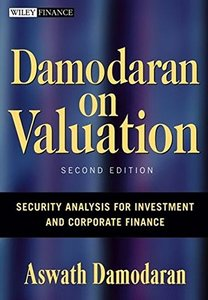Damodaran on Valuation: Security Analysis for Investment and Corporate Finance-cover