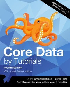 Core Data by Tutorials Fourth Edition: iOS 11 and Swift 4-cover