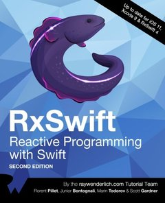 RxSwift: Reactive Programming with Swift, Second Edition-cover