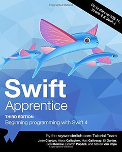 Swift Apprentice Third Edition: Beginning Programming with Swift 4-cover
