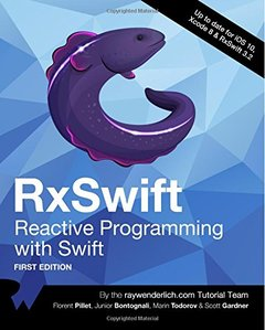 RxSwift: Reactive Programming with Swift-cover