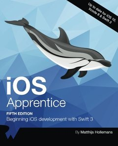iOS Apprentice Fifth Edition: Beginning iOS development with Swift 3-cover