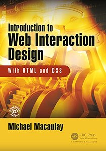 Introduction to Web Interaction Design: With HTML and CSS-cover