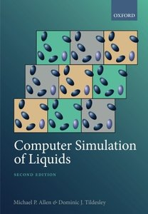 Computer Simulation of Liquids, 2/e (Paperback)-cover