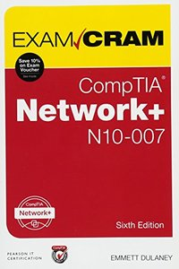 CompTIA Network+ N10-007 Exam Cram (6th Edition)-cover