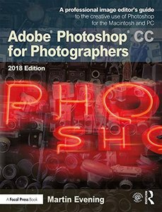 Adobe Photoshop CC for Photographers 2018-cover