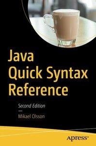 Java Quick Syntax Reference-cover