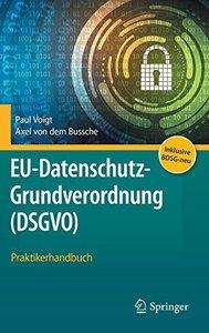 EU-Datenschutz-Grundverordnung (DSGVO): Praktikerhandbuch (German Edition)-cover