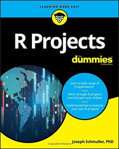 R Projects For Dummies (For Dummies (Computer/Tech))-cover