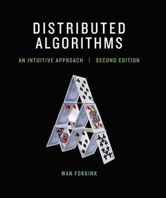 Distributed Algorithms: An Intuitive Approach (MIT Press)-cover