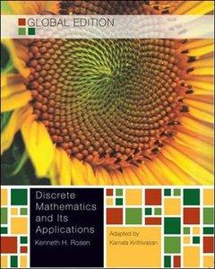 Discrete Mathematics and its Applications, 7/e (IE-Paperback)-cover