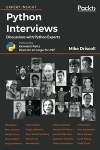 Python Interviews: Discussions with Python Experts-cover