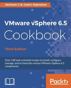 VMware vSphere 6.5 CookBook - Third Edition-cover
