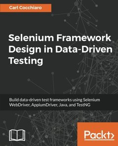 Selenium Framework Design in Data-Driven Testing-cover