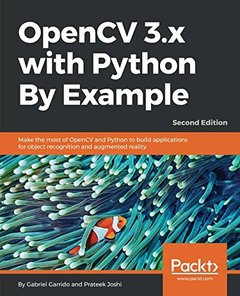 OpenCV 3.x with Python By Example, 2/e-cover