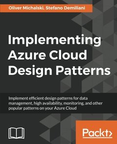 Implementing Azure Cloud Design Patterns-cover