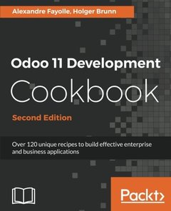 Odoo 11 Development Coobook - Second Edition-cover