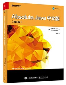 Absolute Java, 6/e (簡體中文版)-cover