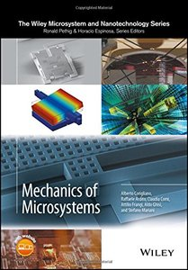 Mechanics of Microsystems (Microsystem and Nanotechnology Series (ME20))-cover