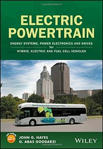 Electric Powertrain: Energy Systems, Power Electronics and Drives for Hybrid, Electric and Fuel Cell Vehicles-cover