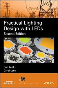 Practical Lighting Design with LEDs (IEEE Press Series on Power Engineering)-cover